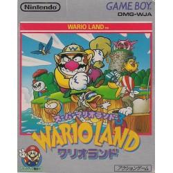 GB WARIO LAND SUPER MARIO LAND 3 (IMPORT JAP) - Jeux Game Boy au prix de 19,95€