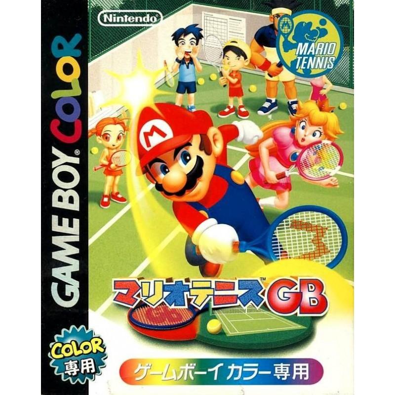 GB MARIO TENNIS (IMPORT JAP) - Jeux Game Boy au prix de 19,95€