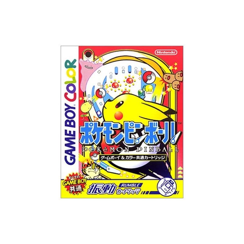 GB POKEMON PINBALL (IMPORT JAP) - Jeux Game Boy au prix de 14,95€