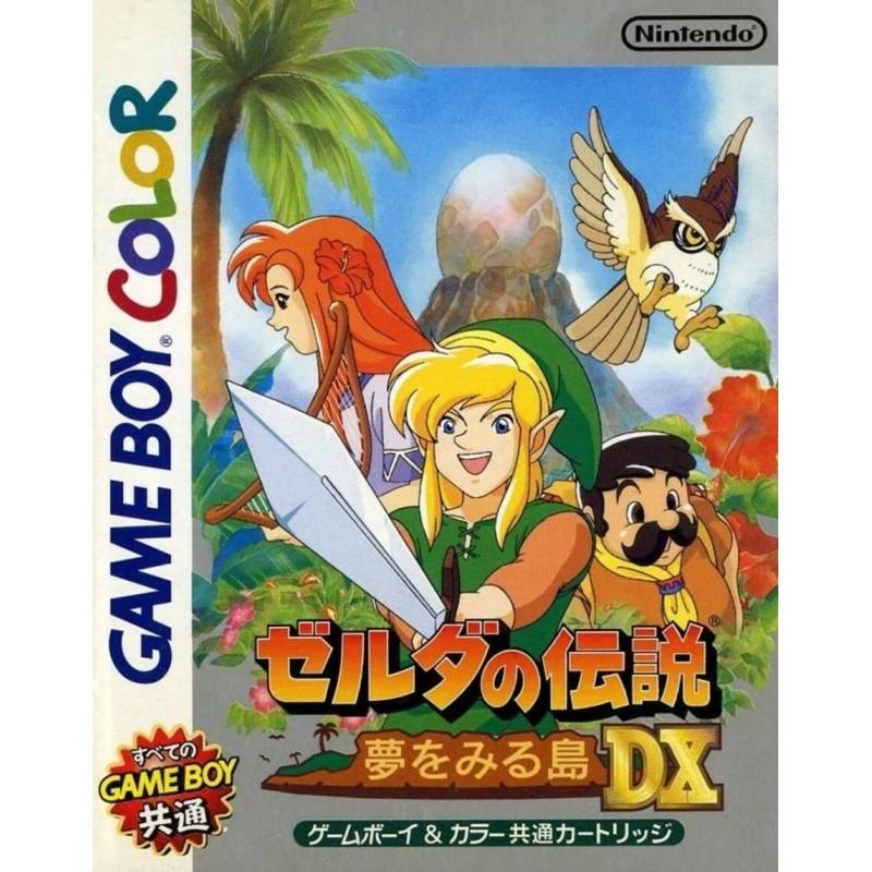 GB THE LEGEND OF ZELDA LINK S AWAKENING DX (IMPORT JAP) - Jeux Game Boy au prix de 34,95€