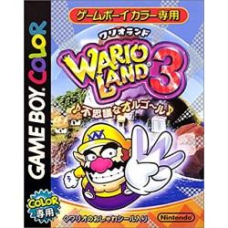 GB WARIO LAND 3 (IMPORT JAP) - Jeux Game Boy au prix de 19,95€