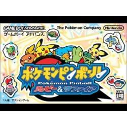 GA POKEMON PINBALL RUBIS SAPHIR (IMPORT JAP) - Jeux Game Boy Advance au prix de 39,95€