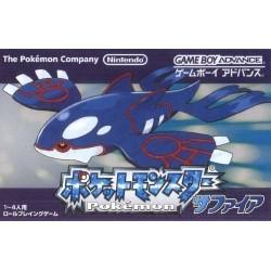 GA POKEMON SAPHIR (IMPORT JAP) - Jeux Game Boy Advance au prix de 29,95€