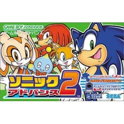 GA SONIC ADVANCE 2 (IMPORT JAP) - Jeux Game Boy Advance au prix de 24,95€