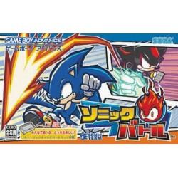 GA SONIC BATTLE (IMPORT JAP) - Jeux Game Boy Advance au prix de 24,95€