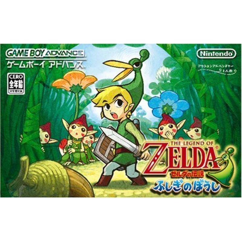GA THE LEGEND OF ZELDA THE MINISH CAP (IMPORT JAP) - Jeux Game Boy Advance au prix de 39,95€