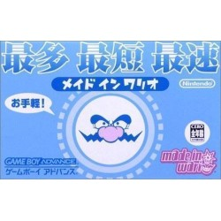 GA WARIOWARE INC (IMPORT JAP) - Jeux Game Boy Advance au prix de 9,95€
