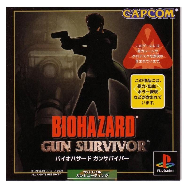 PSX BIOHAZARD GUN SURVIVOR (IMPORT JAP) - Jeux PS1 au prix de 9,95€
