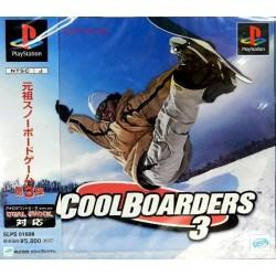 PSX COOL BOARDERS 3 (IMPORT JAP + SPINECARD) - Jeux PS1 au prix de 6,95€