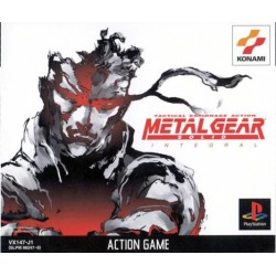 PSX METAL GEAR SOLID INTEGRAL (IMPORT JAP) - Jeux PS1 au prix de 14,95 €