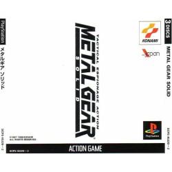 PSX METAL GEAR SOLID (IMPORT JAP) - Jeux PS1 au prix de 9,95€