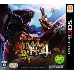 3DS MONSTER HUNTER 4 (IMPORT JAP) - Jeux 3DS au prix de 9,95€