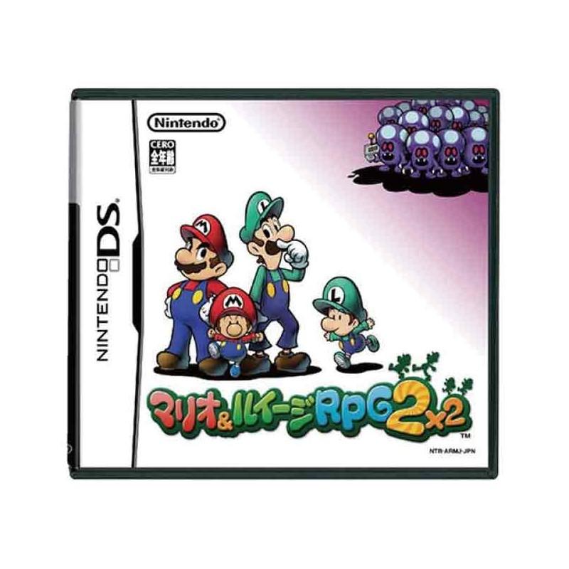 DS MARIO ET LUIGI PARTNERS IN TIME (IMPORT JAP) - Jeux DS au prix de 11,95€