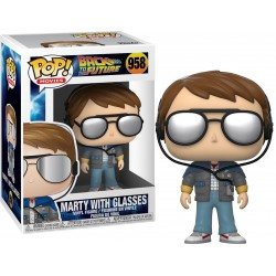 POP BACK TO THE FUTURE 958 MARTY WITH GLASSES - Figurines POP au prix de 14,95 €
