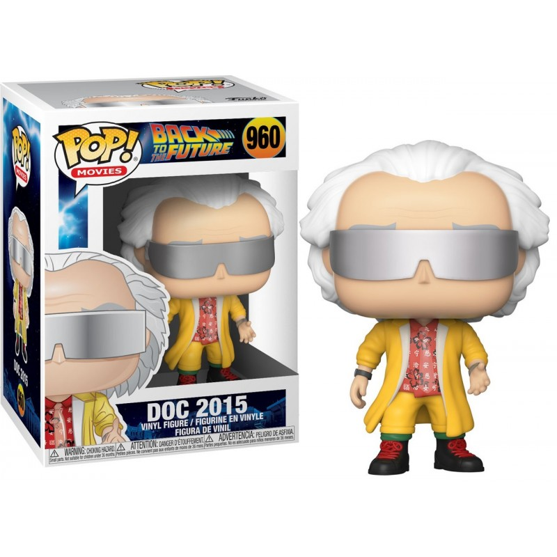 POP BACK TO THE FUTURE 960 DOC 2015 - Figurines POP au prix de 14,95€