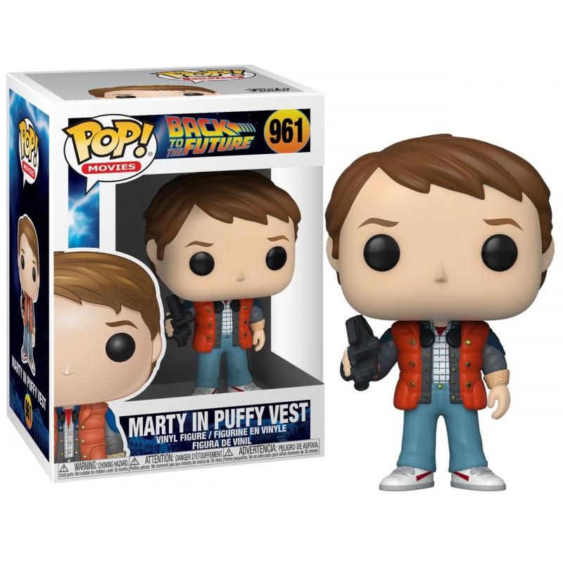 POP BACK TO THE FUTURE 961 MARTY IN PUFFY VEST - Figurines POP au prix de 14,95€