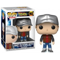 POP BACK TO THE FUTURE 962 MARTY IN FUTURE OUTFIT - Figurines POP au prix de 14,95 €