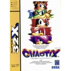 32X KNUCKLES CHAOTIX (IMPORT JAP) - 32X au prix de 149,95€