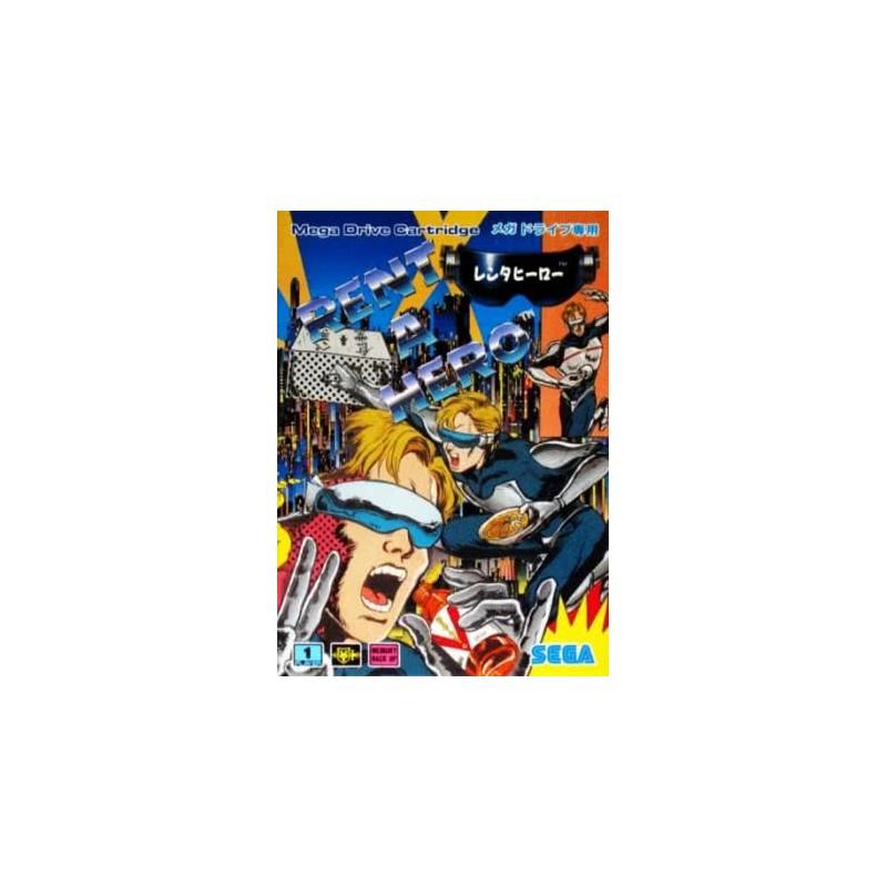 MD RENT A HERO (IMPORT JAP) - Jeux Mega Drive au prix de 29,95€