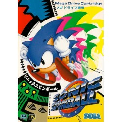 MD SONIC SPINBALL (IMPORT JAP) - Jeux Mega Drive au prix de 19,95€
