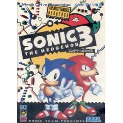 MD SONIC 3 (IMPORT JAP) - Jeux Mega Drive au prix de 29,95€