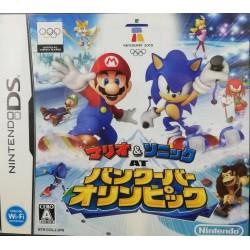 DS MARIO ET SONIC AUX JEUX OLYMPIQUES HIVER (IMPORT JAP) - Jeux DS au prix de 9,95€