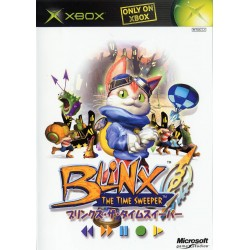 XB BLINX THE TIME SWEEPER (IMPORT JAP) - Jeux Xbox au prix de 4,95€