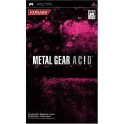 PSP METAL GEAR ACID (IMPORT JAP) - Jeux PSP au prix de 4,95€