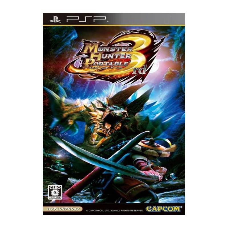 PSP MONSTER HUNTER PORTABLE 3RD (IMPORT JAP) - Jeux PSP au prix de 4,95€