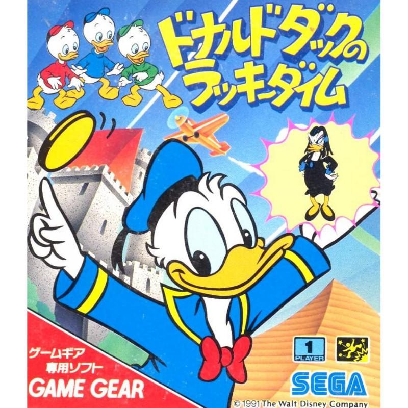 GG DONALD DUCK THE LUCKY DIME CAPER (IMPORT JAP) - Game Gear au prix de 14,95€