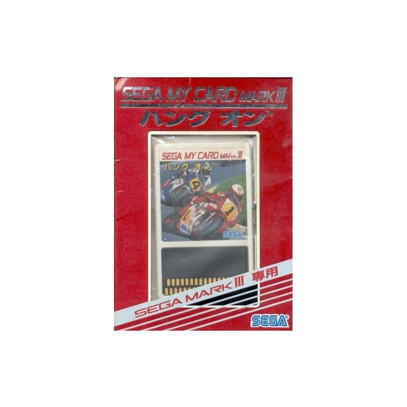 MS HANG ON (MARK 3 IMPORT JAP) - Jeux Master System au prix de 19,95€