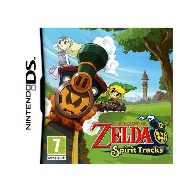 DS ZELDA SPIRIT TRACKS (SOUS BLISTER) (UK) - Jeux DS au prix de 29,95€