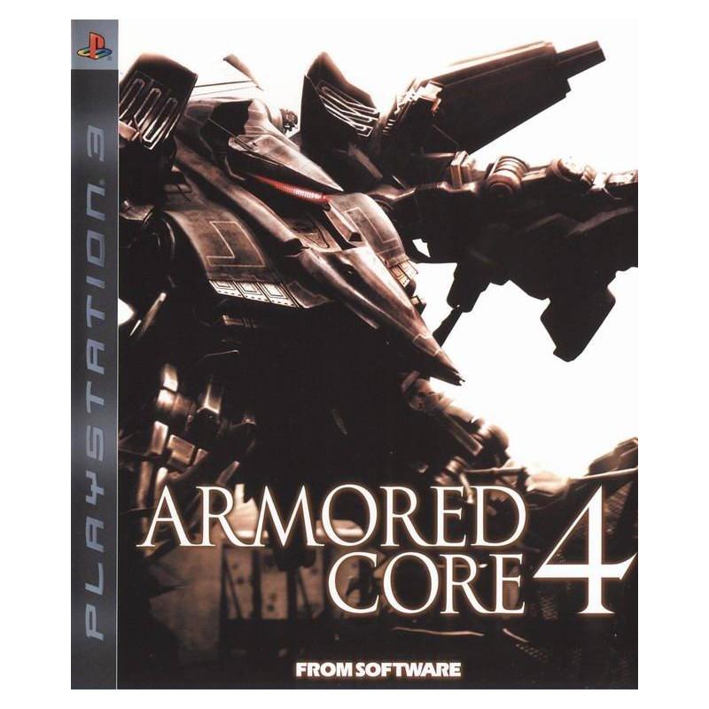 PS3 ARMORED CORE 4 (IMPORT JAP) - Jeux PS3 au prix de 6,95€