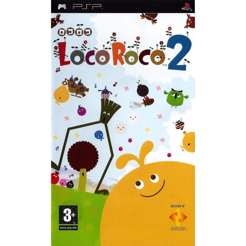 PSP LOCOROCO 2 - Jeux PSP au prix de 9,95€