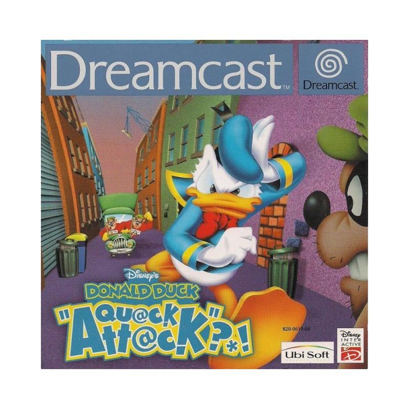 DC DONALD COUAK ATTACK - Jeux Dreamcast au prix de 19,95€