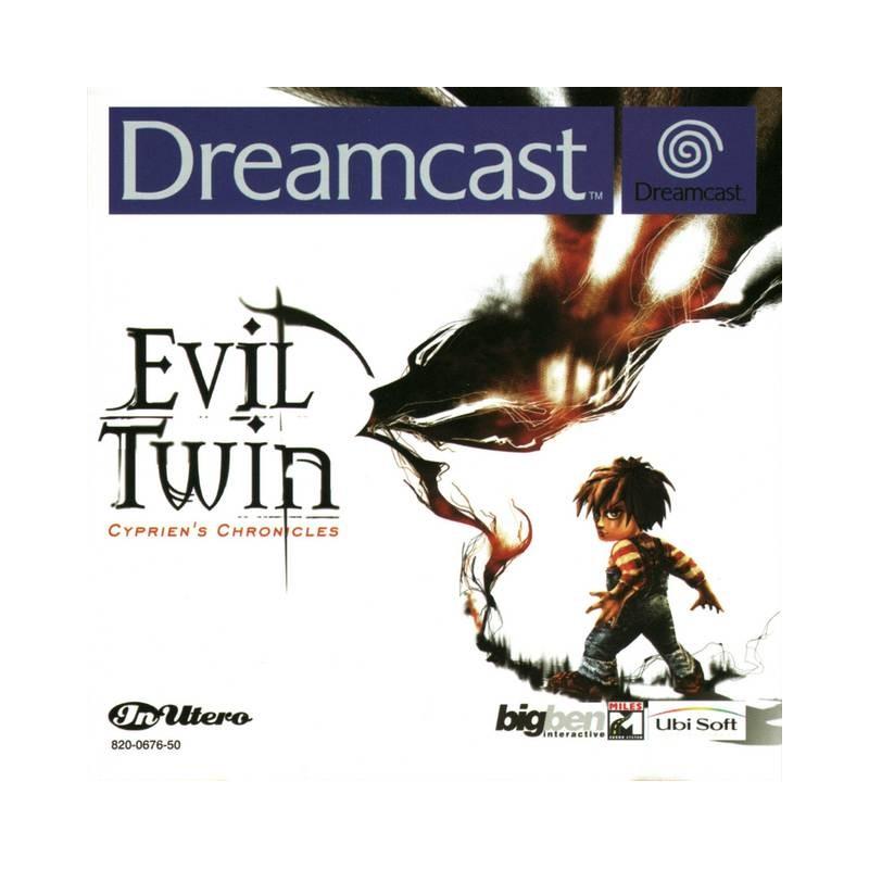 DC EVIL TWIN - Jeux Dreamcast au prix de 89,95€