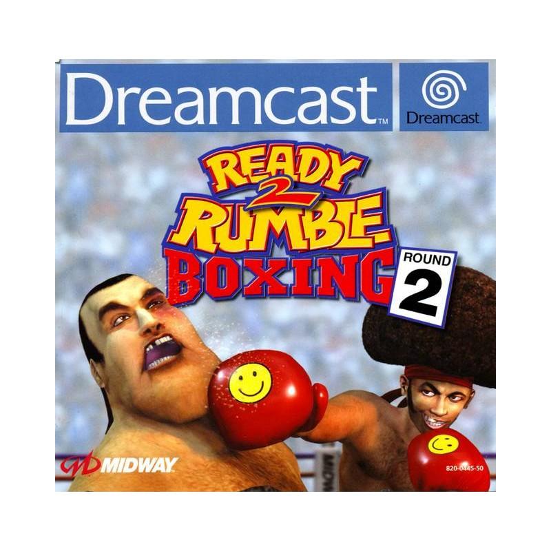 DC READY 2 RUMBLE BOXING ROUND 2 - Jeux Dreamcast au prix de 9,95€