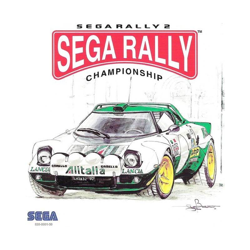 DC SEGA RALLY CHAMPIONSHIP 2 - Jeux Dreamcast au prix de 9,95€