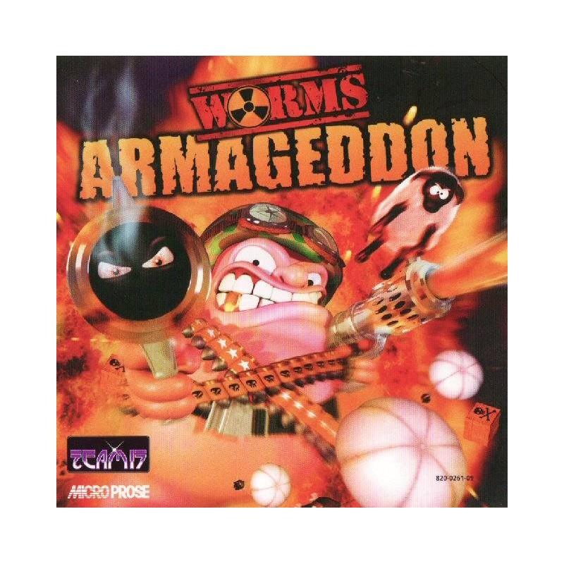 DC WORMS ARMAGEDDON - Jeux Dreamcast au prix de 14,95€