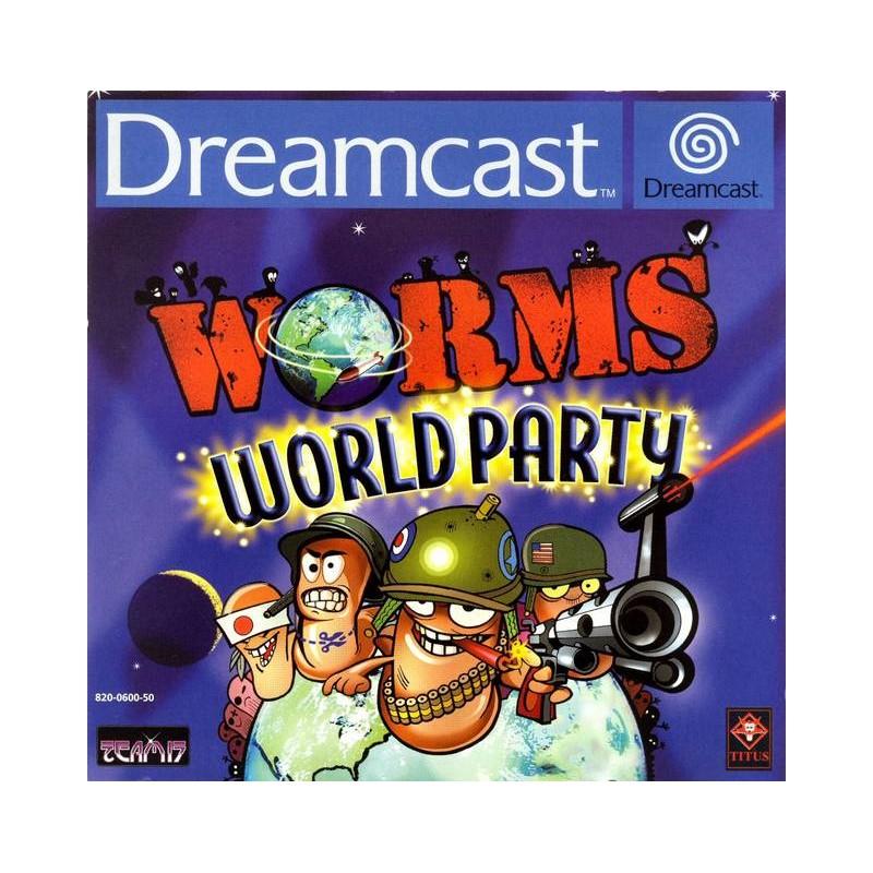 DC WORMS WORLD PARTY - Jeux Dreamcast au prix de 14,95€