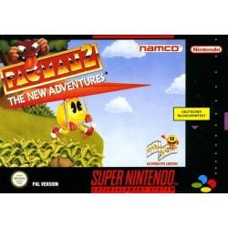 SN PAC MAN 2 THE NEW ADVENTURES (LOOSE) - Jeux Super NES au prix de 14,95€