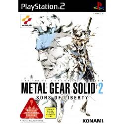 PS2 METAL GEAR SOLID 2 SONS OF LIBERTY (IMPORT JAP) - Jeux PS2 au prix de 4,95€