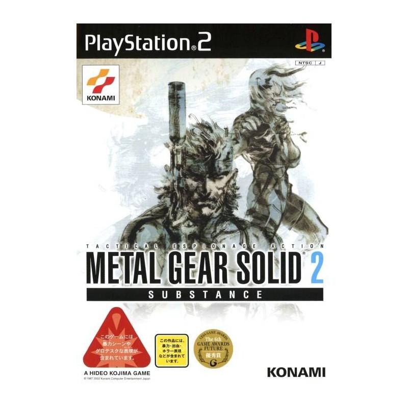 PS2 METAL GEAR SOLID 2 SUBSTANCE (IMPORT JAP) - Jeux PS2 au prix de 7,95€