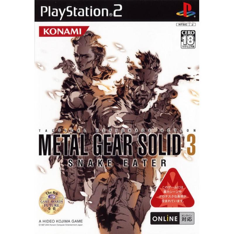 PS2 METAL GEAR SOLID 3 SNAKE EATER (IMPORT JAP) - Jeux PS2 au prix de 9,95€