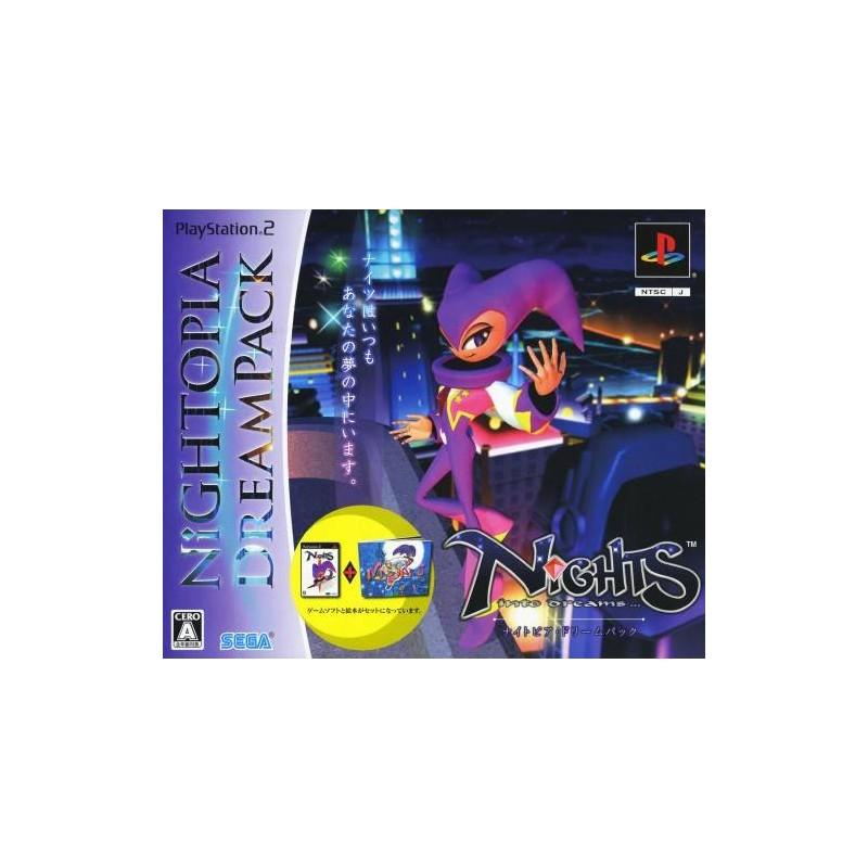 PS2 NIGHTS INTO DREAMS DREAMPACK (IMPORT JAP) - Jeux PS2 au prix de 49,95€