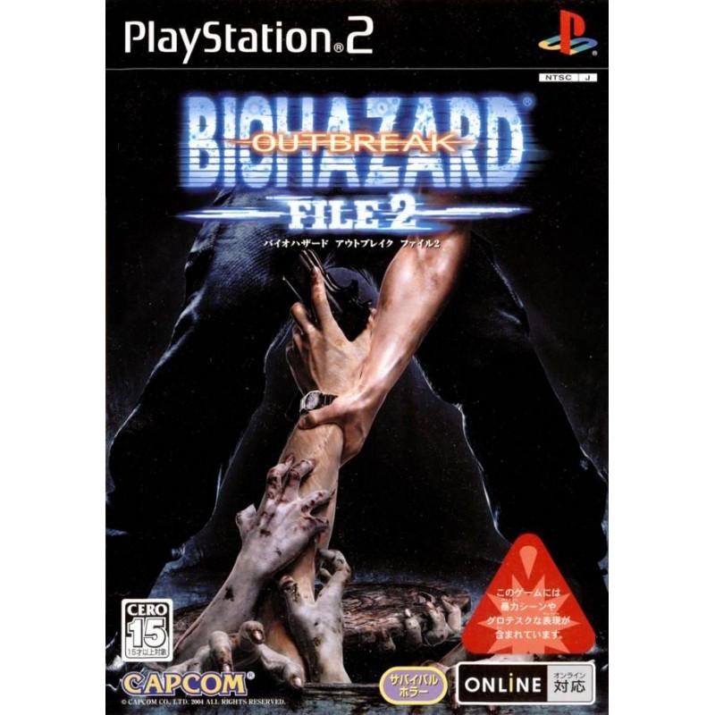 PS2 RESIDENT EVIL OUTBREAK 2 (IMPORT JAP) - Jeux PS2 au prix de 19,95€