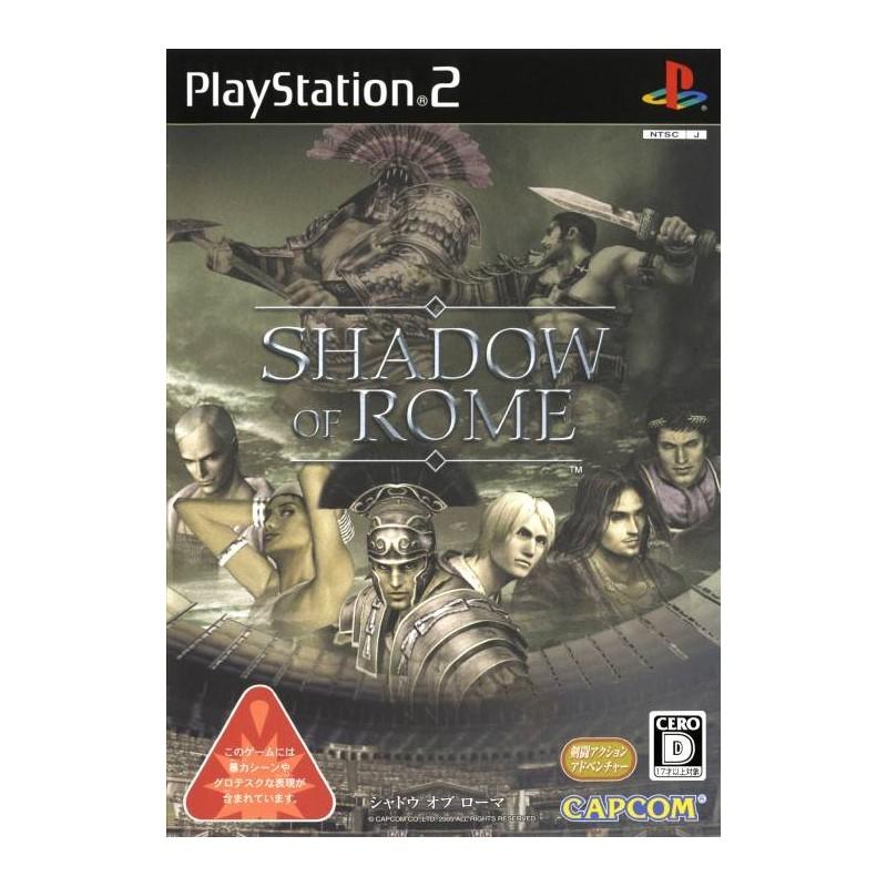 PS2 SHADOW OF ROME (IMPORT JAP) - Jeux PS2 au prix de 6,95€
