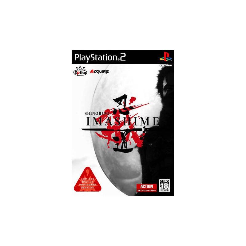 PS2 SHINOBIDO IMASHIME (IMPORT JAP) - Jeux PS2 au prix de 9,95€