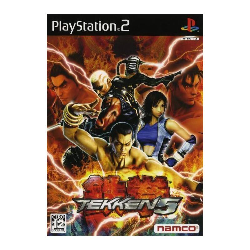 PS2 TEKKEN 5 (IMPORT JAP) - Jeux PS2 au prix de 7,95€