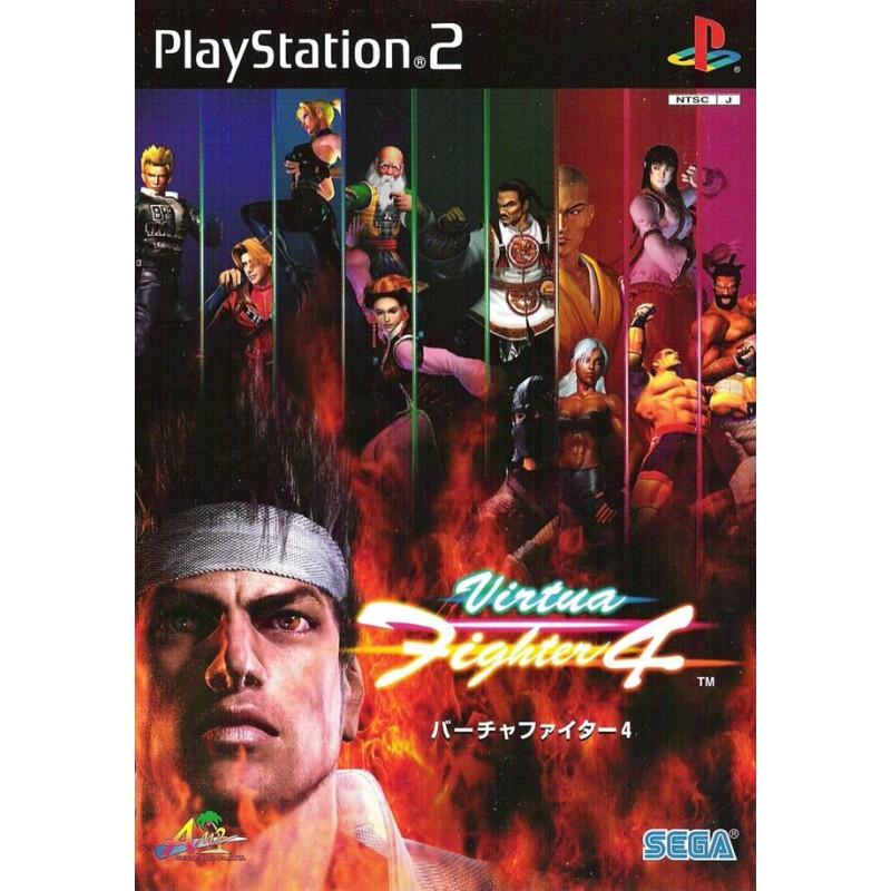 PS2 VIRTUA FIGHTER 4 (IMPORT JAP) - Jeux PS2 au prix de 4,95€